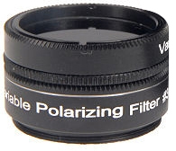 Filtre polarisant variable Sky Optic