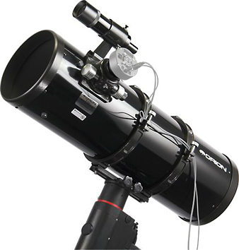 Télescope Orion Photo Newton 203/800 sur Orion Atlas EQ-G GoTo