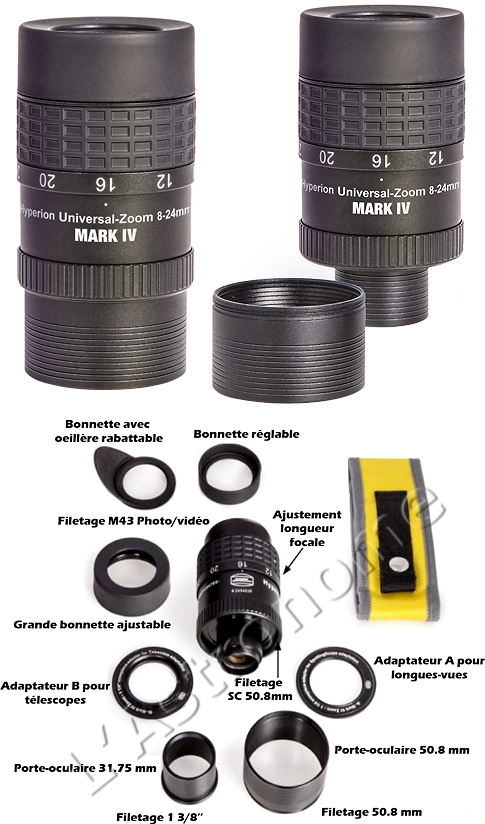 OCULAIRE ZOOM 8-24MM BAADER PLANETARIUM HYPERION MARK IV