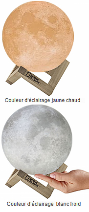 Lampe Lune National Geographic