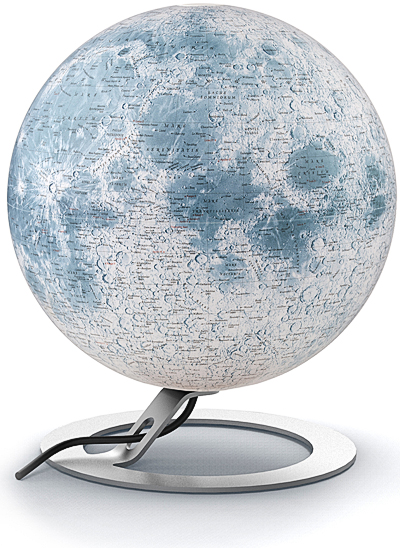 Globe de la Lune National Geographic